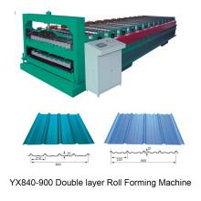 Doppelschicht-Rollformmaschine mit hoher Geschwindigkeit