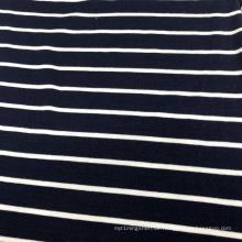 Rayon Spandex Garn gefärbte Streifen Stoff