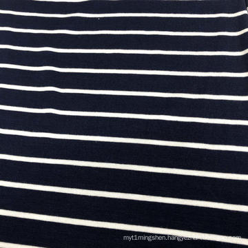 Rayon Spandex Yarn Dyed Stripe Fabric
