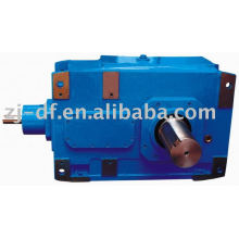 B series bevel helical industry transmission gear motor