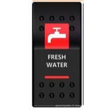 Interrupteur à bascule pour bateau avec étiquette