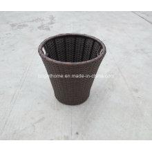 Caja de almacenamiento tejida / caja de almacenamiento plegable