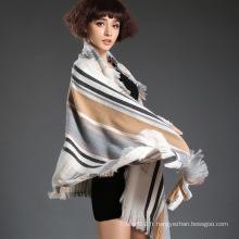 Echarpe à la mode avec technologie teinté de fil