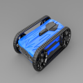 Blue wifi AR racing battle tank