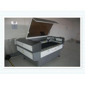 Máquina popular de gravação e corte a laser para tecido