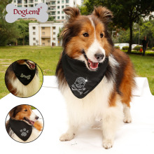 Pet accessories wholesale China custom printed pet dog bandana scarf