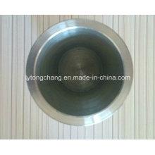 Customized Tantal Tiegel Bodenstärke 2mm, aus Durchmesser 80mm