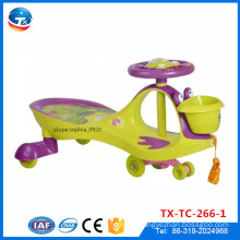 Factory Wholesale Children Baby Toddle Swing Car Plastic Twist Car Original Plasma Car For Selling