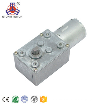 high torque low rpm worm gear motor 12v