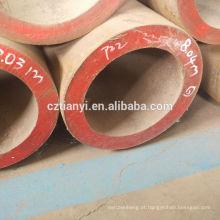 Fornecedor de Alibaba vende por grosso o tubo de aço inoxidável da parede fina