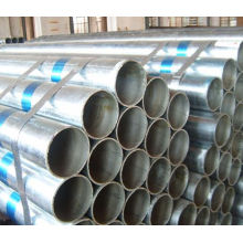 Fabriqué en Chine tube en acier galvanisé pour cadre de serre