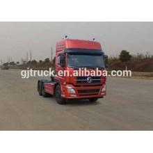 Dongfeng 6x4 unidad de cabeza del tractor para el remolque de mercancías de carga común