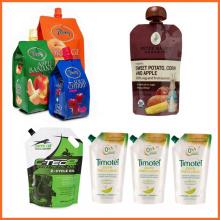 Food Safty Stand Up Juice Drink Spout Верхняя / носовая боковая сумка Al Foiled