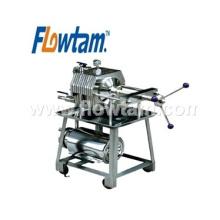 China fornecedores ss304 placa de aço inoxidável tipo de quadro filtro prensa