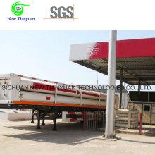 12 CNG Jumbo Tubos Semirremolque Contenedor