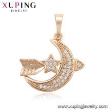 33701-Xuping Fashion Pendentif avec plaqué or 18 carats