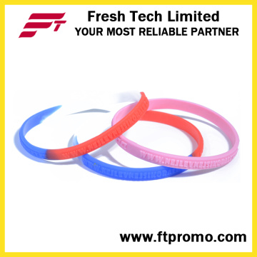 2016 Hot Selling Sports Silicone Wristband with Logo