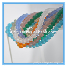 Perle de cristal pour bracelet, perles de nouvelle couleur en Chine