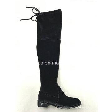 Neueste Elegant Elastic Oberschenkel Hohe Lady Boots