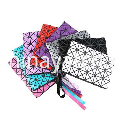 Lattice Fabric Handbag