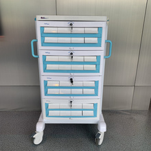 Removable Aluminum Alloy Medication Transfer Trolley