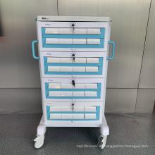 Abnehmbarer Medikamenten-Transferwagen aus Aluminiumlegierung