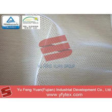 100% polyester plain mesh fabric for suit and shoes