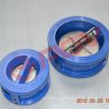 304 válvula de retención de aleta tipo wafer