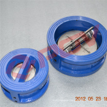 304 wafer type flap check valve