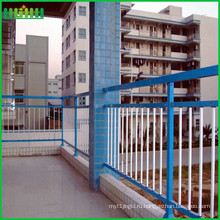 Цинковый стальной трубчатый забор (производитель ISO) с горячей продажей