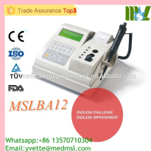 2016 New comer! Protable Semi auto Coagulometer Analyzer MSLBA12-M