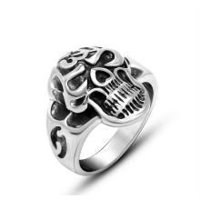 Классический готический кольца черепа дизайн мужская нержавеющей ювелирные изделия