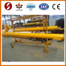 Hot sale Shandong WAM 219*11 sprial conveyor ,cement screw conveyor for powder