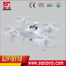 New product 2016 4CH 6 Axis RC Airplane Heli Drone Six-axis Flyer/ Quadcopter SJY-X118