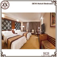 Mobilier de chambre d'hôtel de luxe