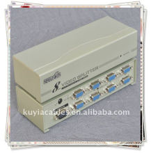 8 PORT 250MHZ VGA SPLITTER