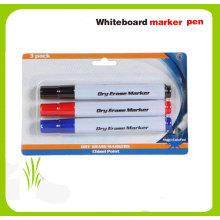 Caneta de marcador de quadro branco de 3pk, item de dólar