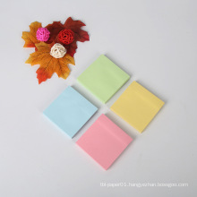 Promotional Custom Design Branded Paper Printed 4C Die Cut Custom Sticky Notes Memo Pad