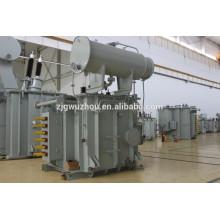 12MVA Transformador monofásico de 12000tpy Horno de FeSi en el horno de arco de acero