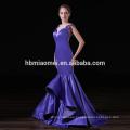 Custom Embroidered Ladies Special Occasion Elegant Mermaid Evening Dress