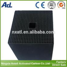 filtre à air de nid d'abeilles de charbon actif utilisé pour le ménage privé