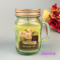 Mason+jar+perfume+7+oz+paraffin+wax+candle