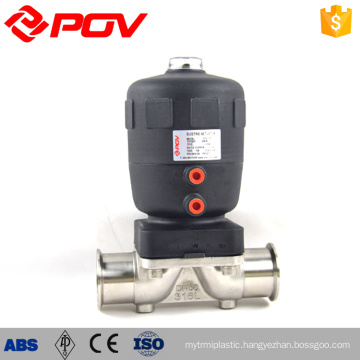All stainless steel pneumatic sanitary diaphgram valve