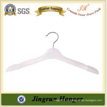 Роскошная белая пластиковая вешалка для одежды