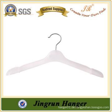 Luxus Weiß Plastik Kleiderbügel Qualität Kunststoff Anzug Kleiderbügel