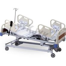Cama de hospital eléctrico con cinco funciones