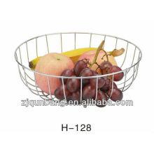 Cesta de fruta semicircular, cesta de doces, bandeja de frutas, cesta de vegetais