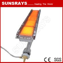 Infrared Gas Heater for Singeing Frame