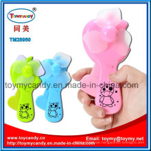 Colorful 6X4X14cm Handheld Fan Toy with 3 Colors