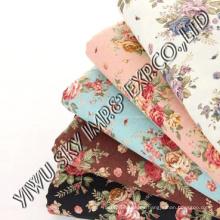 Rose Flower Design para Home Print Fabric